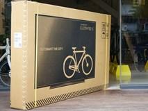 Mua xe đạp nhưng lại nhận được hộp đựng TV - cách làm siêu thông minh của công ty này