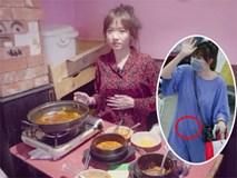 Ăn quá no, Hari Won lấy áo che vòng 2 to bất thường vì sợ thị phi bầu bí