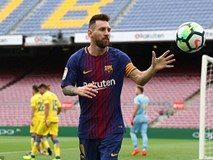 Messi lập cú đúp trong 7 phút, Barcelona xây chắc ngôi đầu
