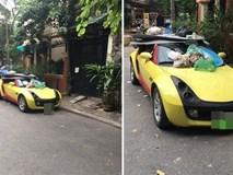 Đỗ xe thiếu ý thức, tài xế Smart Roadster nhận ngay