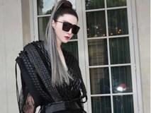 Phạm Băng Băng chơi hẳn màu tóc khói bạc xuất hiện cực chất tại show diễn của Louis Vuitton