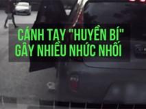 Dừng xe, thản nhiên mở cửa vứt rác xuống đường: Hành động gây bất bình của tài xế