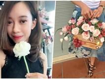 Bỏ công tránh việc, cô nàng quyết tâm theo nghiệp... bán hoa