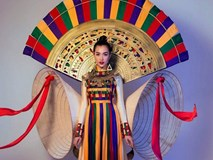 Lộ diện quốc phục chính thức của đại diện Việt Nam tại Hoa hậu Hoàn vũ 2017