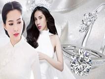 So kè những chiếc nhẫn cưới có trị giá khủng của cặp đôi sao Việt
