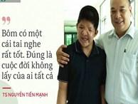 'Anh hùng Bôm': Ngoài anh Tuấn, Bôm còn một bố nữa, Bôm yêu bố này lắm!