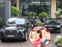 Không gian cưới và dàn xe sang tại biệt thự của chồng Hoa hậu Đặng Thu Thảo
