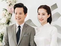 Chặng đường tình yêu ngọt ngào của HH Đặng Thu Thảo và Trung Tín