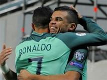 Ronaldo tỏa sáng, Bồ Đào Nha tiến sát vé dự World Cup 2018