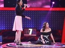 Văn Mai Hương 'đơ' với giọng hát của cô gái xinh đẹp