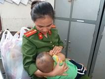 Bé trai được nữ thiếu úy công an cho bú: Người bố chưa thể đón con, phải xét nghiệm ADN