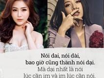 """Các nàng à, nhìn Hương Tràm mà làm gương, có định giật status đá xoáy ai, nên """"bẻ tay"""" bảy lần trước đã!"""