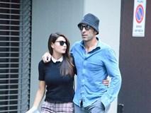 Thủ môn Buffon sành điệu, dạo bước trên phố với hôn thê xinh đẹp