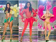 Top 10 quốc phục thi hoa hậu 'không rườm rà thì lại hở bạo' chẳng khác gì diễn show Victoria's Secret