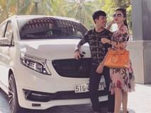 """Kỷ niệm 4 năm ngày cưới, đại gia Minh """"Nhựa"""" mang chiếc Jaguar XF gần 4 tỷ đồng ra bãi biển Phan Thiết làm quà tặng vợ"""