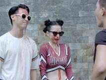 'Glee' tập 8: Angela Phương Trinh và Rocker Nguyễn bị tạt nước vào mặt