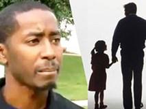 Thấy bố dắt con trên đường nhưng bé gái mấp máy 2 từ, người đàn ông vội báo ngay cảnh sát