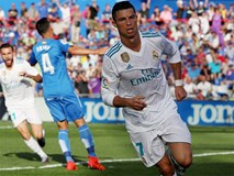 Ronaldo giải cơn khát bàn thắng, mang về 3 điểm cho Real
