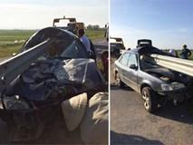 Hình ảnh vụ tai nạn ở Thanh Hóa khiến dân mạng đau đầu tranh luận