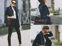 """Thanh Hằng """"cân"""" hết dàn siêu mẫu Châu Á với chiếc túi gần 100 triệu đồng"""
