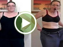 Thiếu nữ 75kg giảm cân thần kỳ chỉ bằng cách đứng nhún nhảy