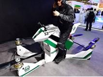 Cảnh sát Dubai tuần tra bằng xe máy bay