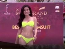 Hoa hậu Hoà bình Quốc tế tại VN: Huyền My tự tin khoe thân hình nóng bỏng với bikini