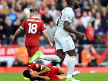 Lukaku bị cáo buộc cố tình đá vào mặt hậu vệ Liverpool