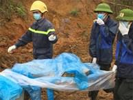 Tìm được 2 thi thể, 1 nửa người và cánh tay trong vụ sạt lở đất ở Hòa Bình