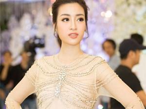 Cận cảnh nhan sắc Hoa hậu Mỹ Linh trước thềm lên đường đi thi Miss World 2017