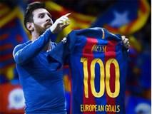 Messi lập kỷ lục ở đấu trường châu Âu