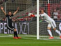Thủ môn sai lầm hài hước giúp Man Utd giành 3 điểm ở cúp châu Âu