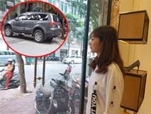 """Cô gái dán băng vệ sinh lên xe ô tô: """"Tôi không sai, chủ xe mới vô ý thức"""""""