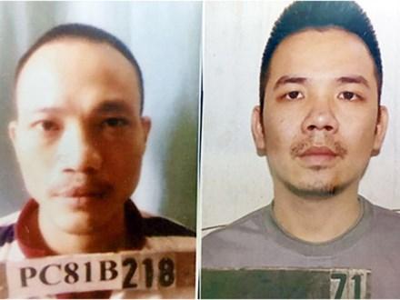 Thông tin mới nhất về vụ 2 tử tù Thọ, Tình bỏ trốn khỏi trại tại giam T16