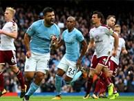 Aguero đi vào lịch sử, Man City nới rộng cách biệt với Man Utd lên 5 điểm
