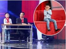 Thánh biết tuốt 6 tuổi 'vượt mặt' MC Lại Văn Sâm trên sân khấu 'Mặt trời bé con'