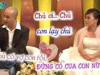 Cười 'té ghế' với cặp 'vợ chồng chú cháu', gắng hết sức 'tố' nhau trên truyền hình