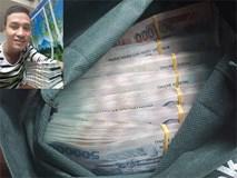 Vị khách để quên hơn 300 triệu đồng trong cốp xe, nam sinh vội đi tìm trả lại