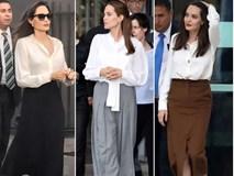 Người ta chỉ chê Angelia Jolie gầy chứ ít khi chê mặc xấu, và đây là lý do