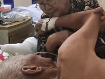 Chuyện tình thời 'ông bà anh': Cảm động cụ bà ân cần động viên khi chồng nằm trên giường bệnh