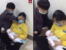 Mất cả 2 tay, anh chồng vẫn chăm sóc vợ con tận tình khiến nhiều người xúc động, rơi nước mắt
