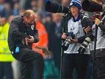 Chú sóc bướng bỉnh gây náo loạn trước trận đấu của Man City