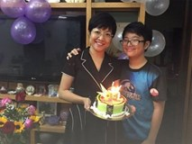 Thảo Vân tổ chức sinh nhật cho con trai, Công Lý vắng mặt?