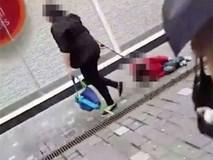 Sự thật đằng sau clip mẹ buộc dây kéo lê con trên phố khiến người bức xúc, kẻ cho là dàn dựng