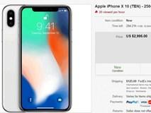 """iPhone X """"cháy hàng"""", nhiều suất đặt hàng trước được bán lại với giá... gần 3.000USD"""