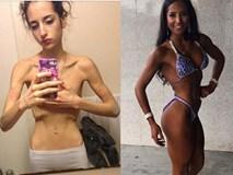 Màn biến hình ngoạn mục của những cô nàng cò hương trước và sau tăng cân