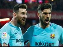Messi lập đại công, Barca bỏ xa Real 8 điểm