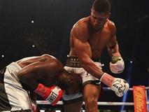 Đánh kẻ thách đấu đổ máu, Joshua bảo vệ đai vô địch