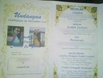 Xôn xao tấm thiệp mời cưới một chú rể nhưng có đến... 2 cô dâu