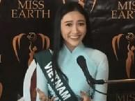 Clip: Không cần phiên dịch viên, Hà Thu thể hiện bản lĩnh đối đáp bằng tiếng Anh cực ấn tượng tại Miss Earth 2017